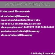 Николай Лисовский on My World.