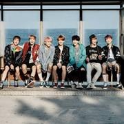 BTS group on My World
