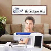 Машинная вышивка - это Broidery.Ru группа в Моем Мире.